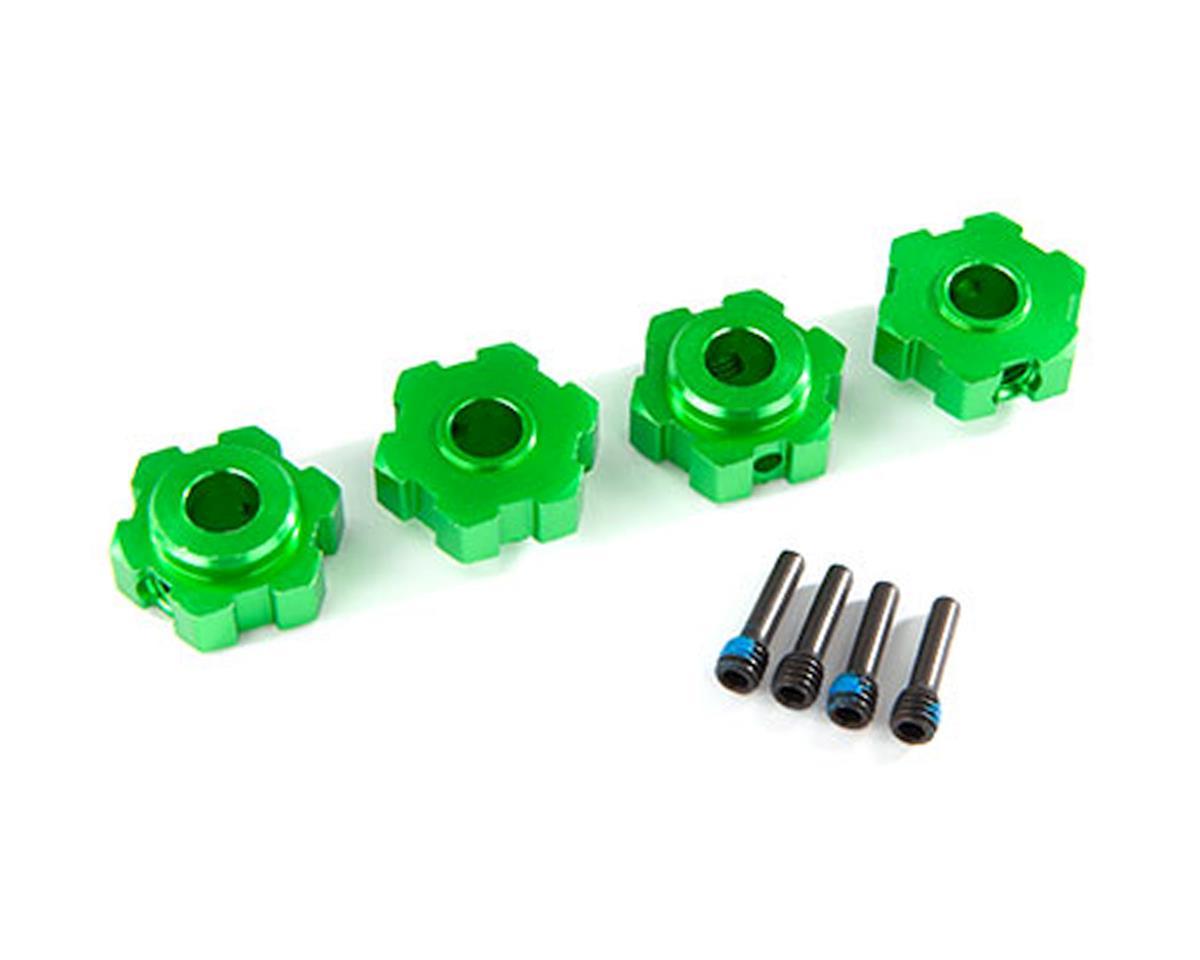 Traxxas Maxx Aluminum Wheel Hex (Green) (4)   relatedproducts