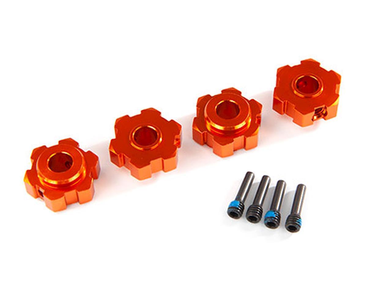 Traxxas Maxx Aluminum Wheel Hex (Orange) (4)