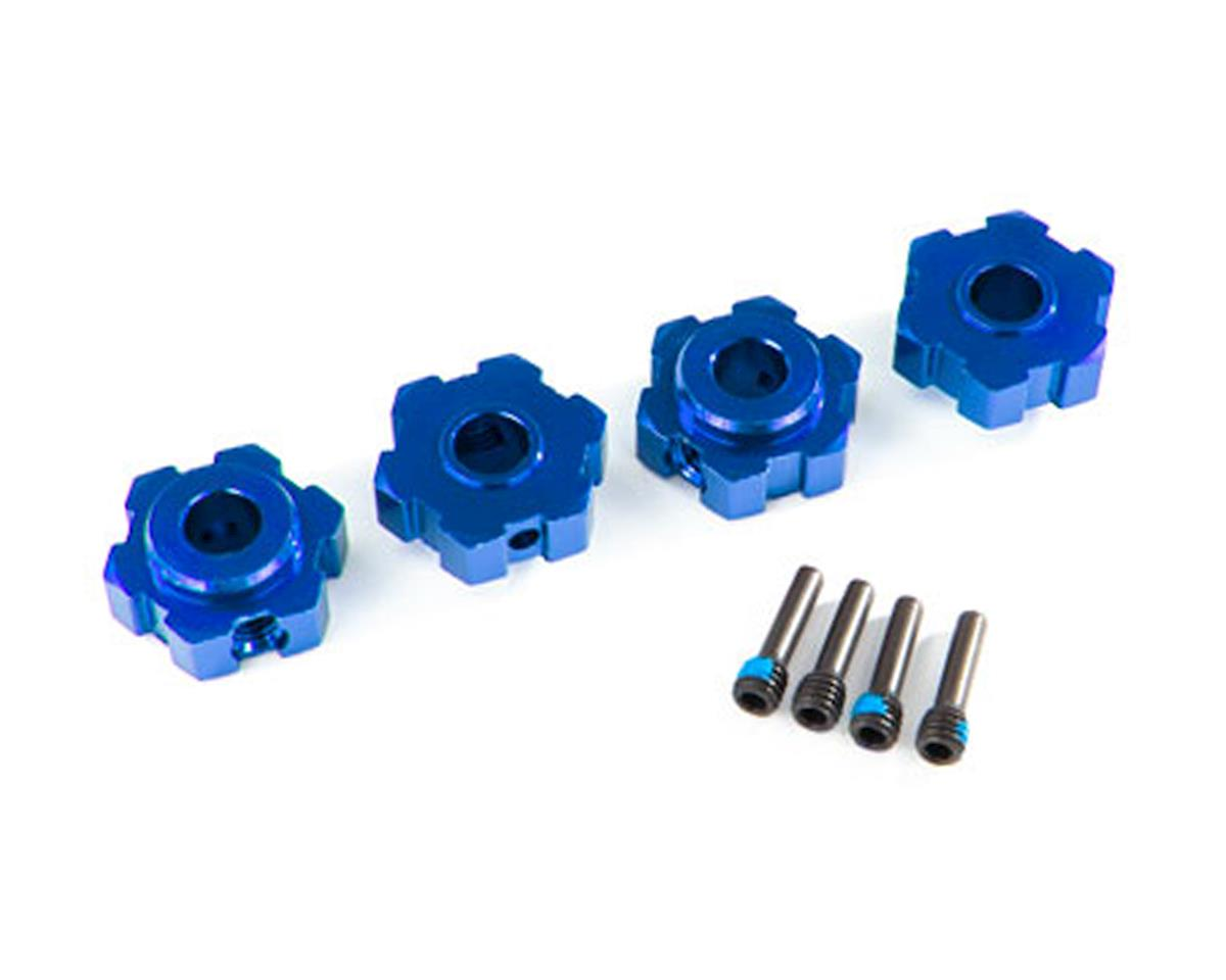 Traxxas Maxx Aluminum Wheel Hex (Blue) (4)