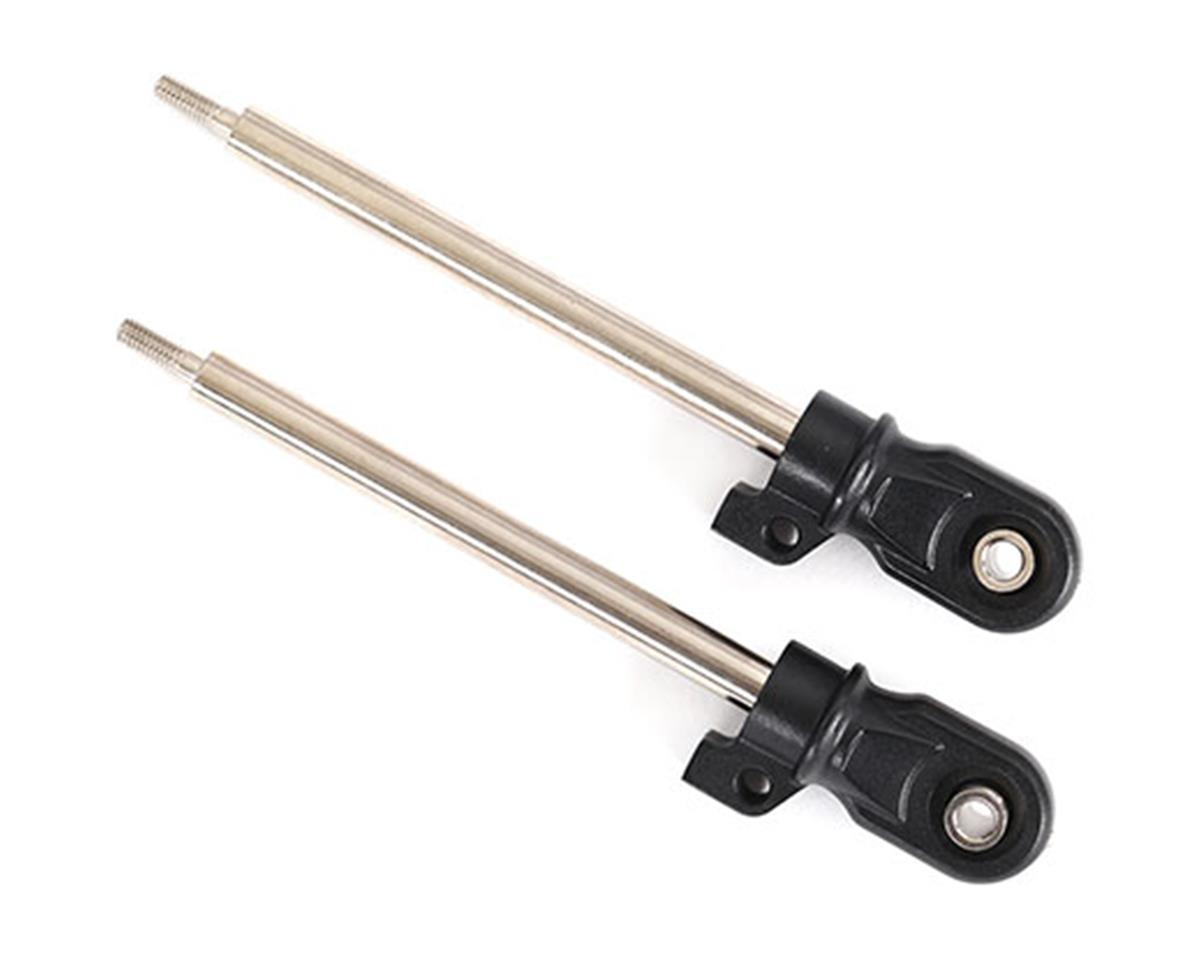 Traxxas GT-Maxx Steel Shock Shaft (Chrome) (2) (72mm) | relatedproducts