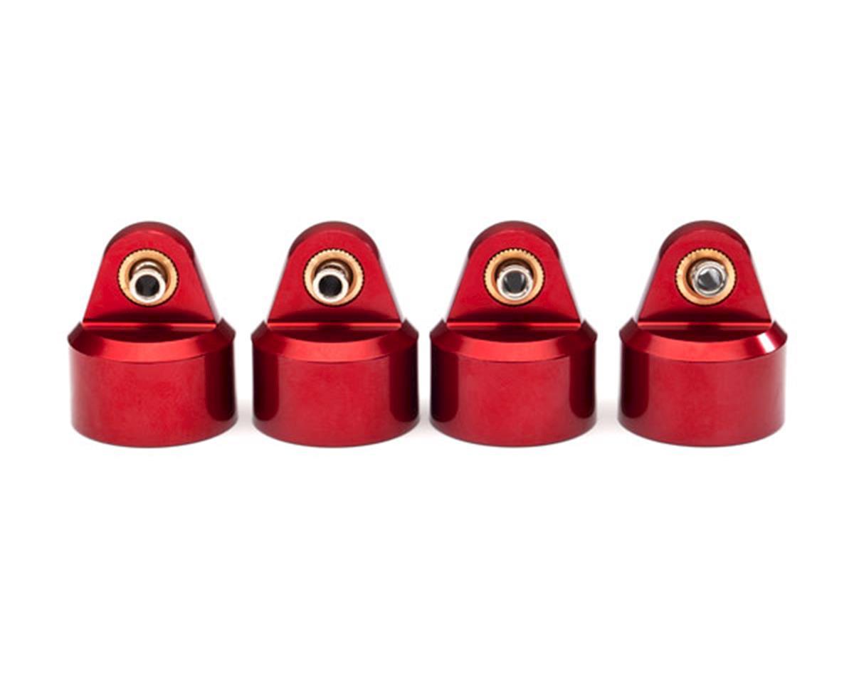 Traxxas Maxx GT-Maxx Aluminum Shock Caps (Red) (4)