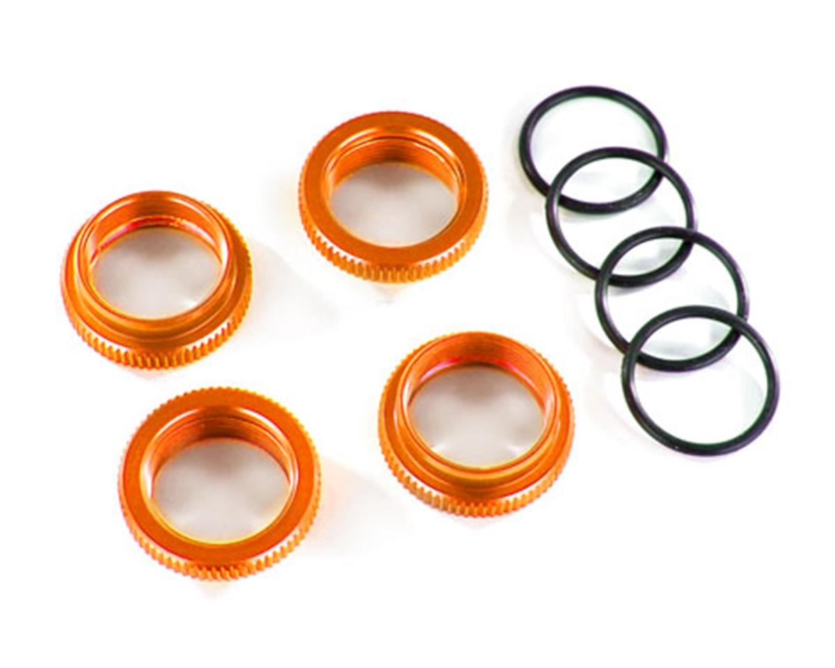 Traxxas GT-Maxx Aluminum Spring Retainer (Orange) (4) | relatedproducts