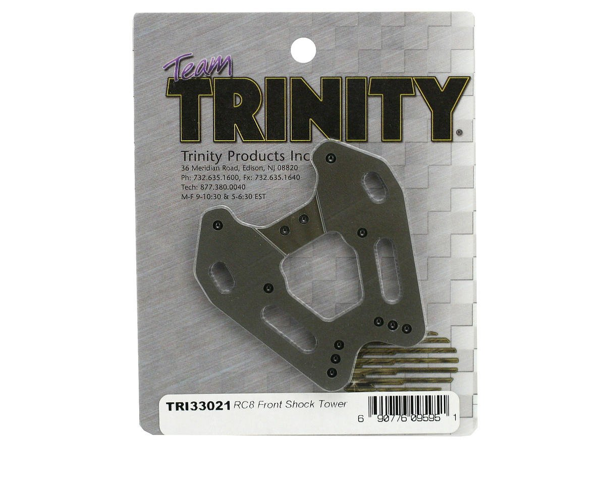 Team Trinity Aluminum RC8 Front Shock Tower