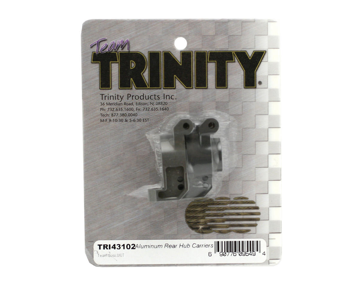Team Trinity Losi 8ight/8T Aluminum Rear Hub Carriers