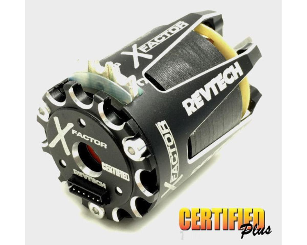 """Trinity Revtech """"X Factor"""" """"Certified Plus"""" Off-Road Torque Brushless Motor (17.5T)"""