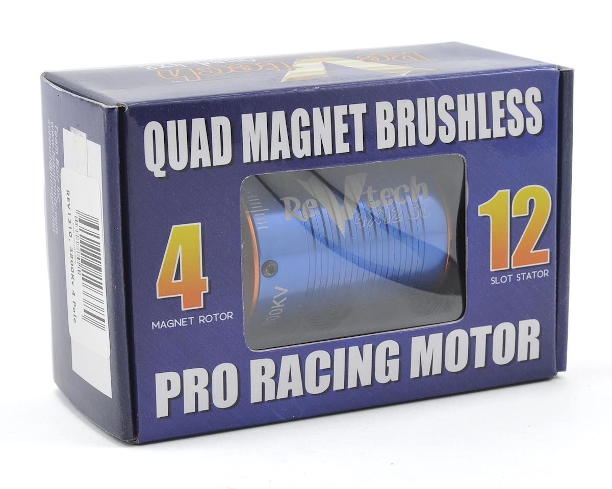 """Team Trinity REVTECH """"4XS"""" Quad Magnet 12 Pole 540 Brushless Motor (5mm Shaft) (3800kV)"""