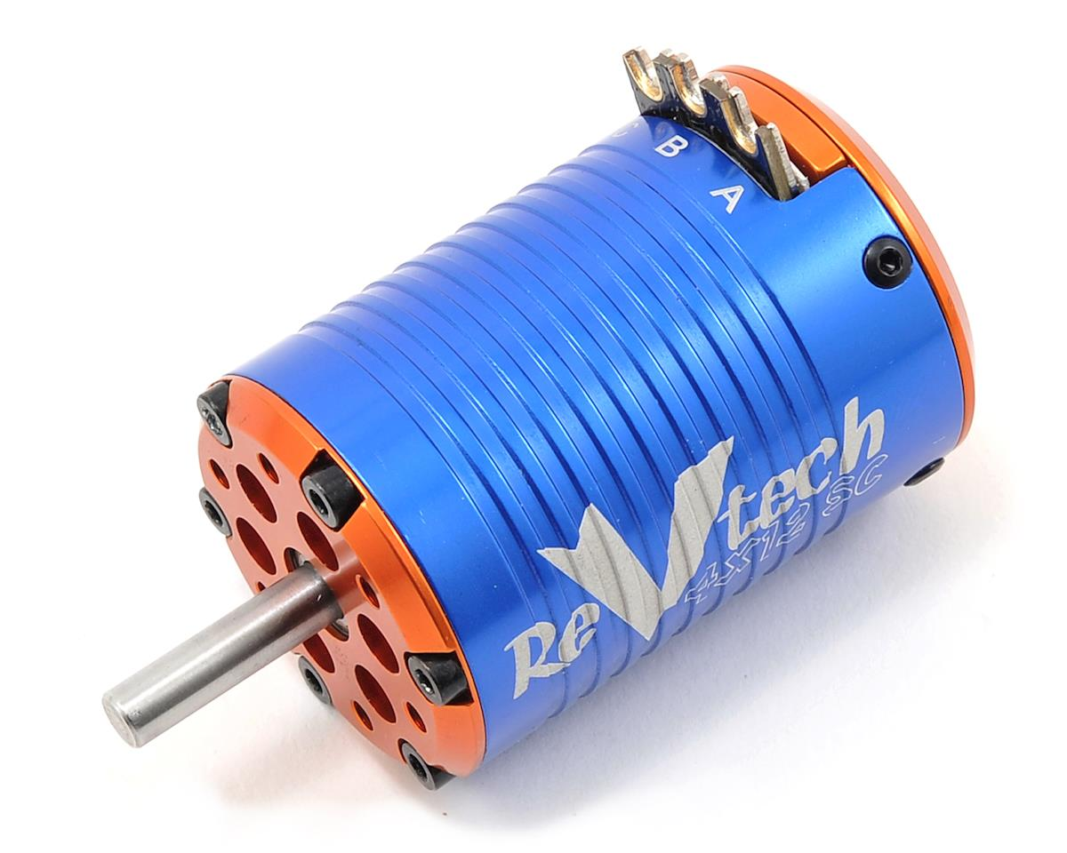 REVTECH 4XS Quad Magnet 12 Pole 540 Brushless Motor (4800kV) by Team Trinity