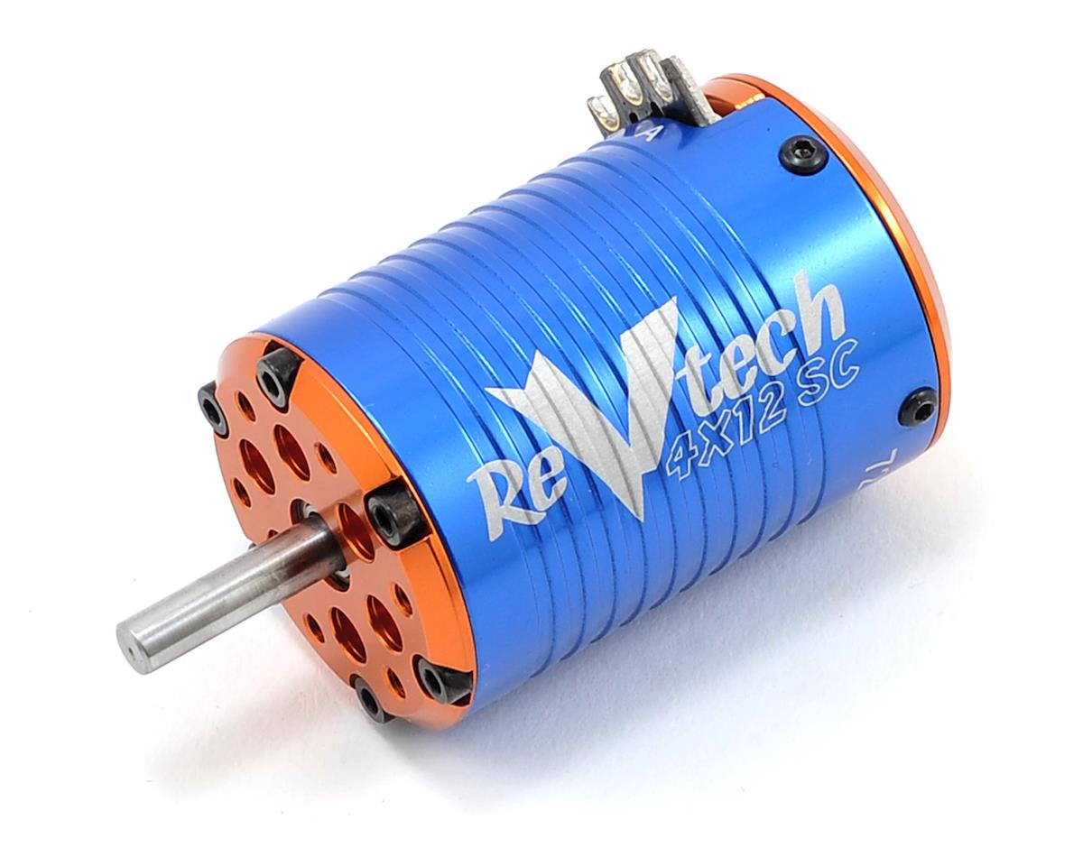 Team Trinity REVTECH 4XS Quad Magnet 12 Pole 540 Brushless Motor (7200kV)