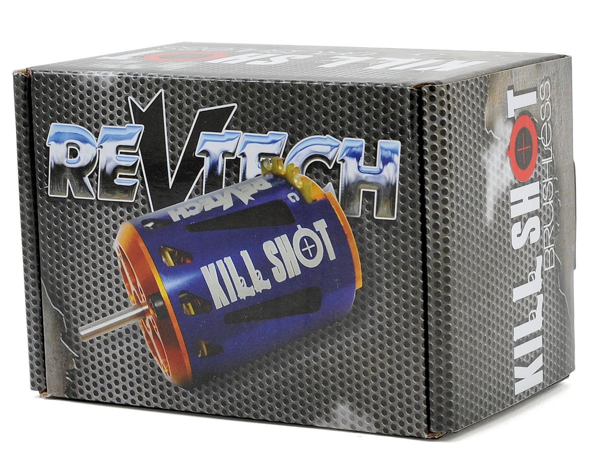 "Team Trinity REVTECH ""Kill Shot"" High RPM ROAR Spec Brushless Motor (21.5T)"