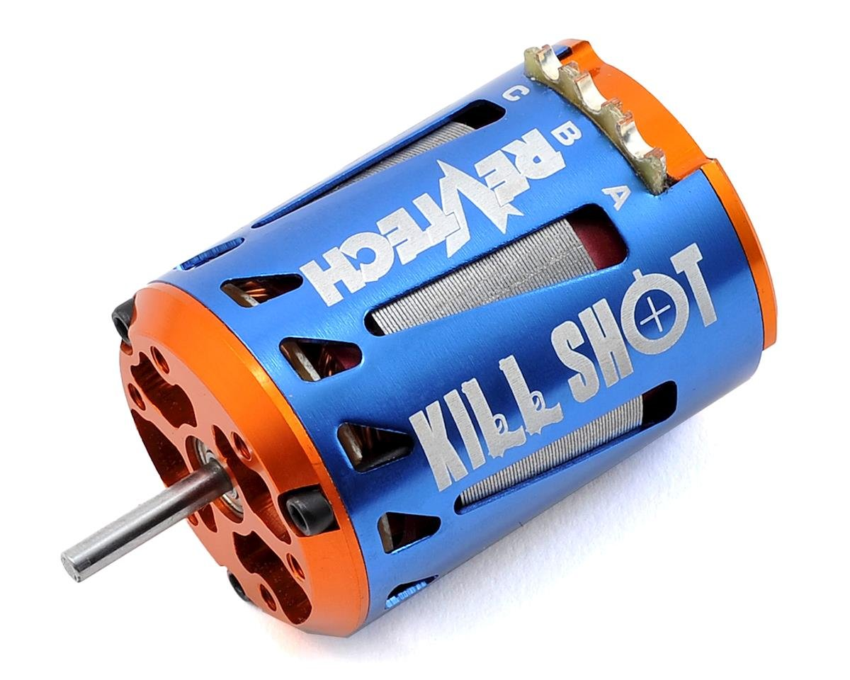 "Team Trinity REVTECH ""Kill Shot"" High Torque ROAR Spec Brushless Motor (21.5T)"