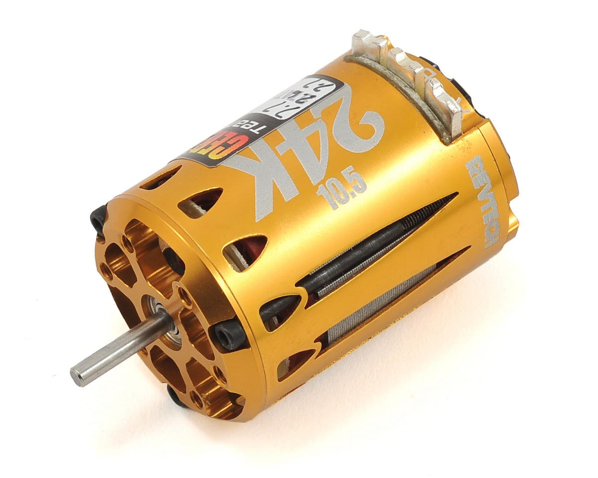 "24K ""Certified"" Short Stack Brushless Motor (10.5T)"