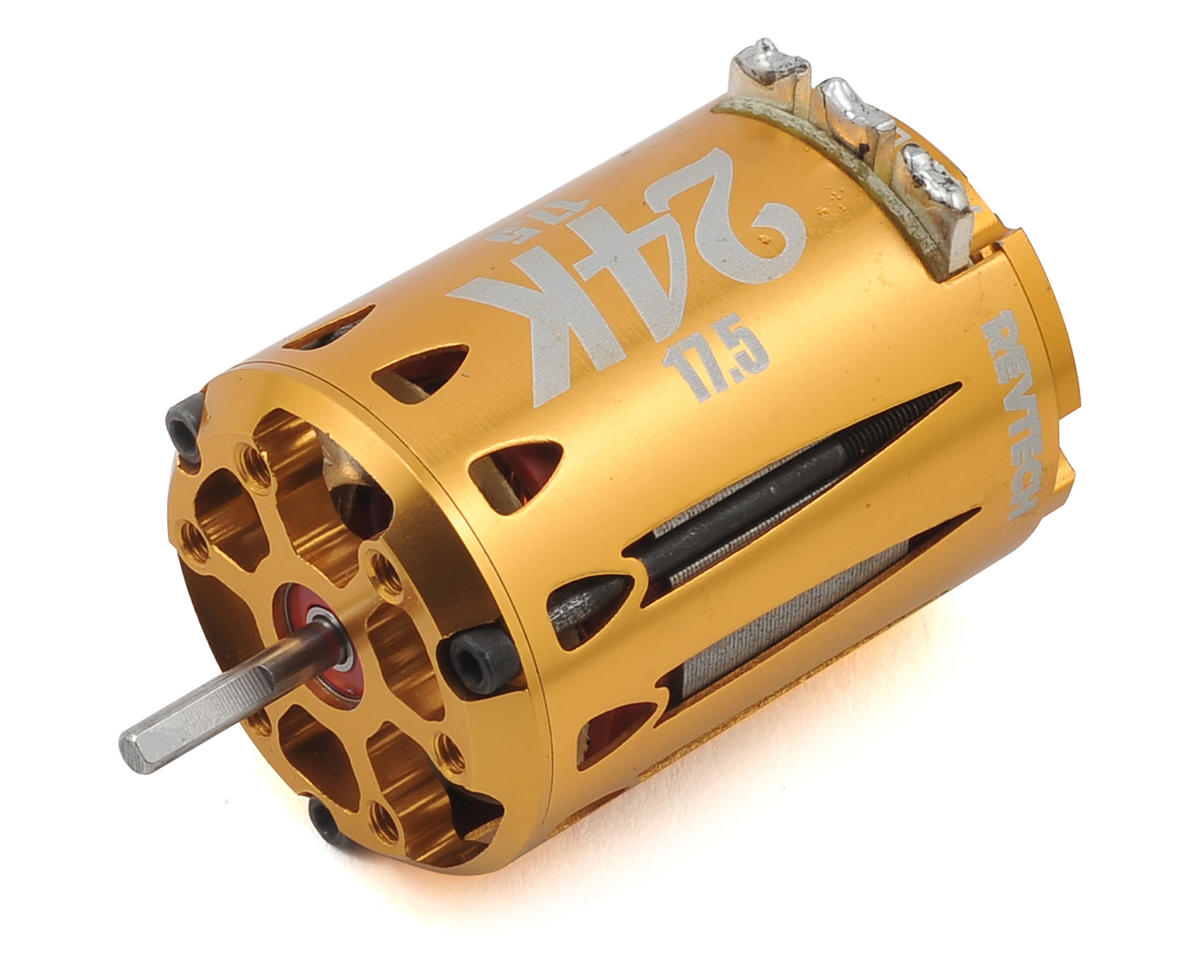 "24K ""Certified Plus"" 2-Cell Off-Road Brushless Motor (17.5T) by Team Trinity"