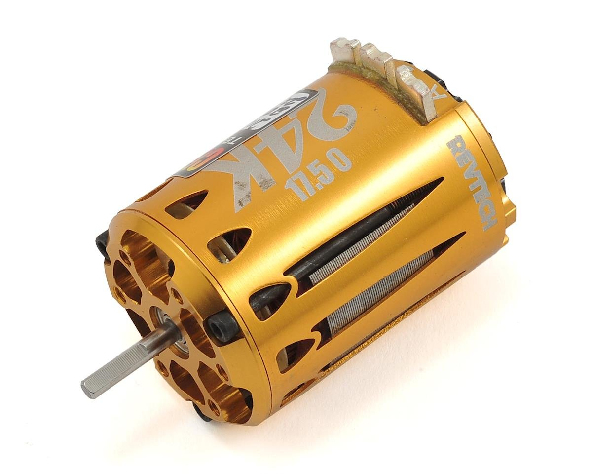 "24K ""Certified"" Short Stack Brushless Motor (17.5T) by Team Trinity"