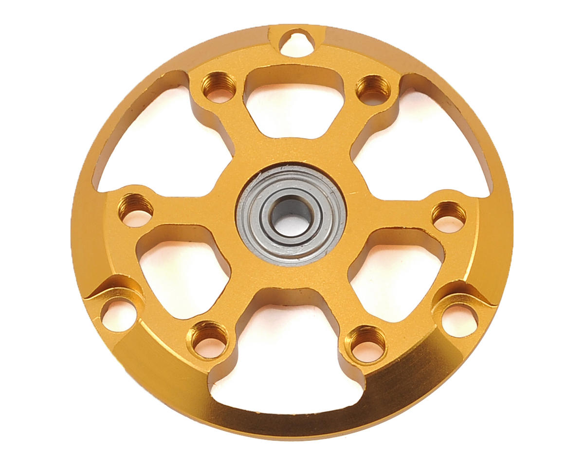 Team Trinity 24K Pinion Side Plate w/Ball Bearing