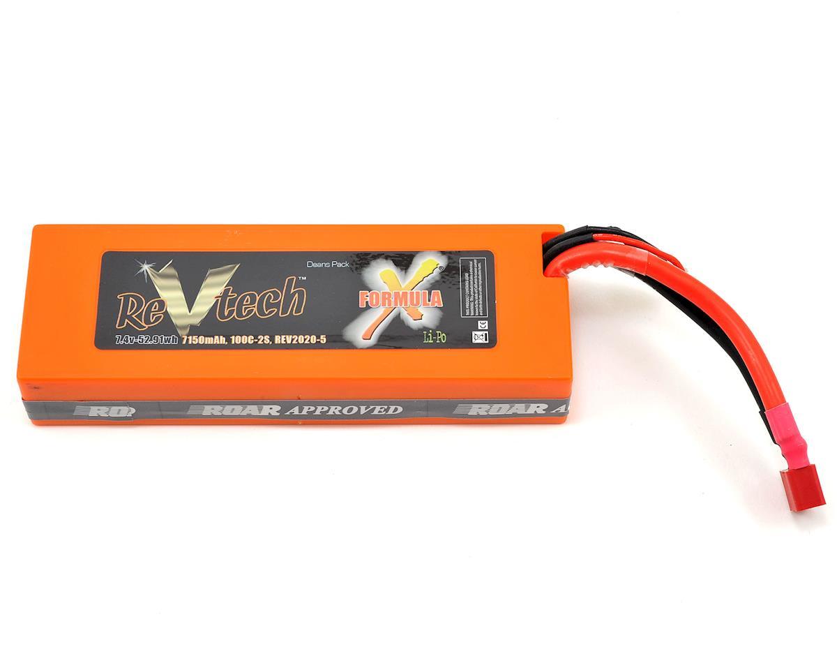 Team Trinity REVTECH Formula X 2S 100C Hardcase LiPo Battery (7.4V/7150mAh)