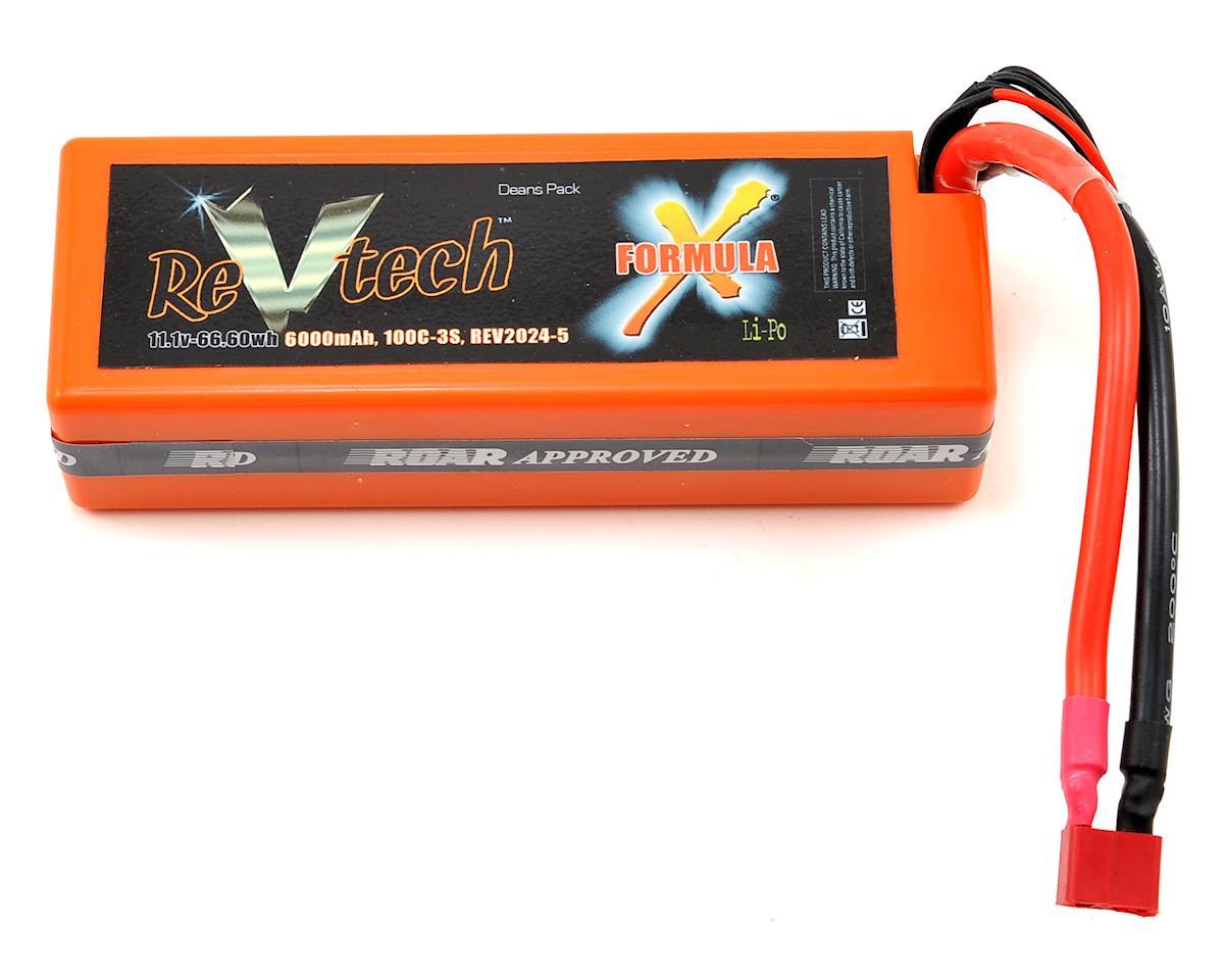 REVTECH Formula X 3S 100C Hardcase LiPo Battery (11.1V/6000mAh)