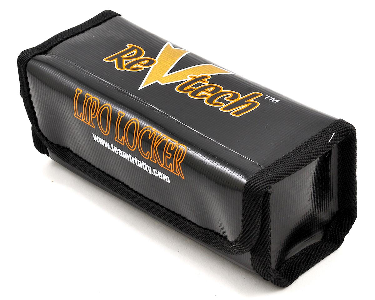 "Team Trinity REVTECH ""LiPo Locker"" 2 - 4 Cell LiPo Charging Bag (Black)"