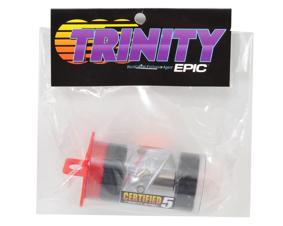 "Team Trinity ""Certified"" 12.5mm High RPM Rotor (Pink)"