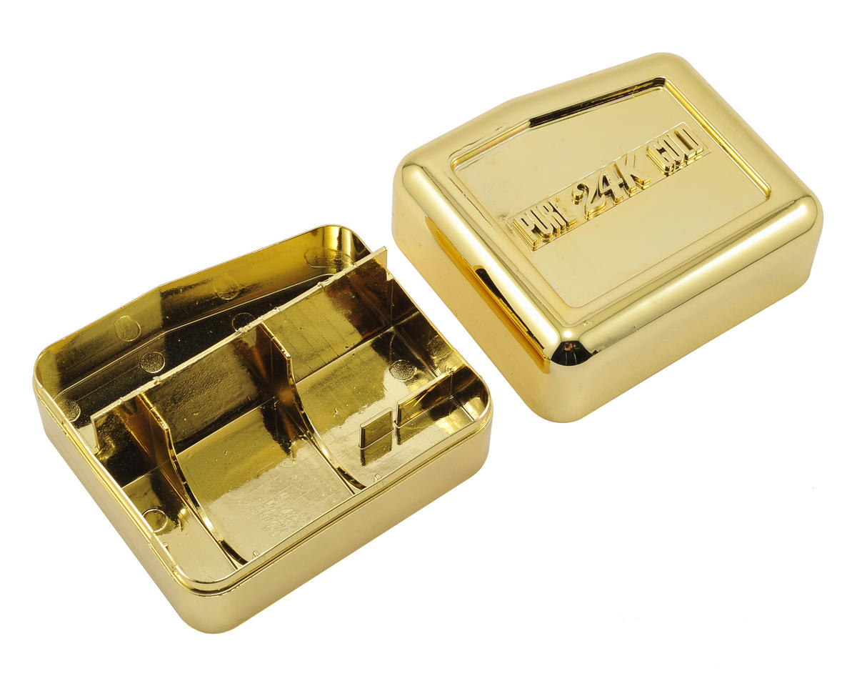 "Team Trinity ""Trapezoid"" Motor Storage Box (Gold)"