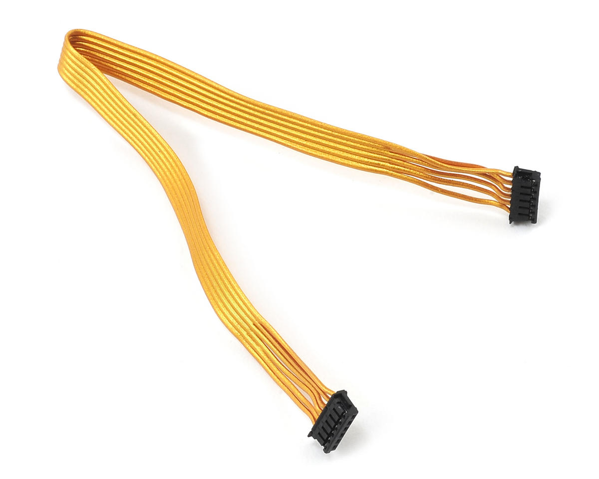 Gold Ribbon Flatwire Sensor Cable (170mm) by Team Trinity