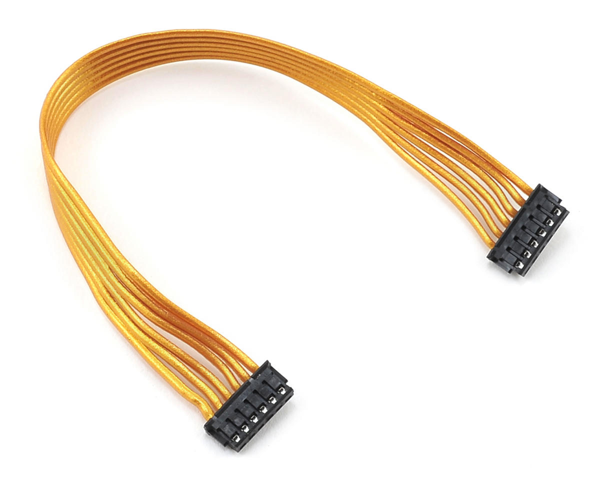 Team Trinity Gold Ribbon Flatwire Sensor Cable (105mm)
