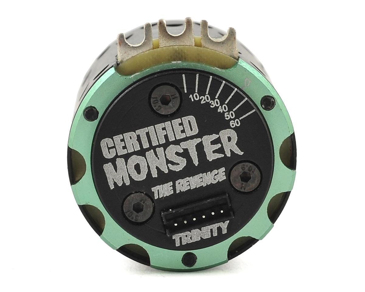"Team Trinity Monster Max ""Certified Plus"" SCT/Truck Brushless Motor (17.5T)"