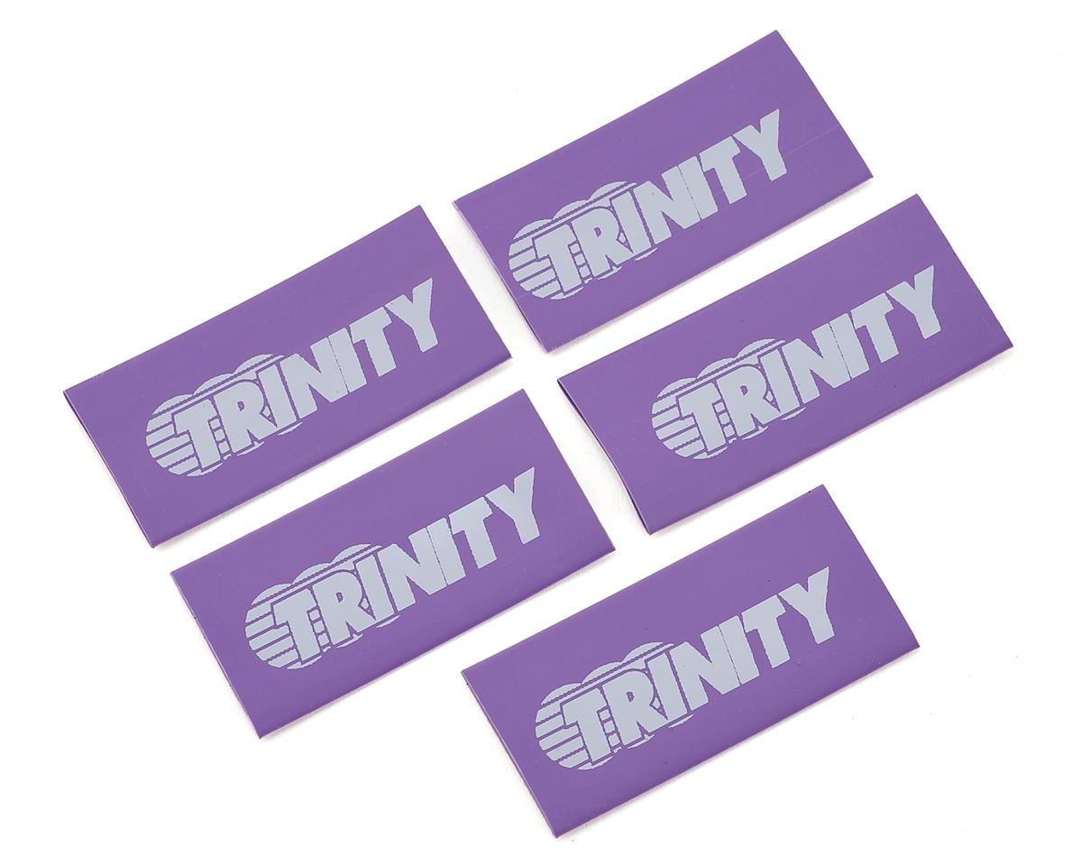 Logo Shrink Wrap/Cable Managment (5) (Purple) by Team Trinity