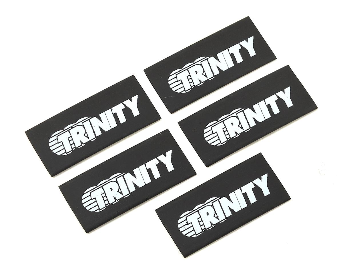 Logo Shrink Wrap/Cable Managment (5) (Black) by Team Trinity