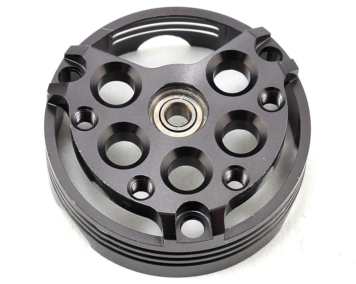 D4 Pinion Side End Plate w/Ball Bearing by Team Trinity
