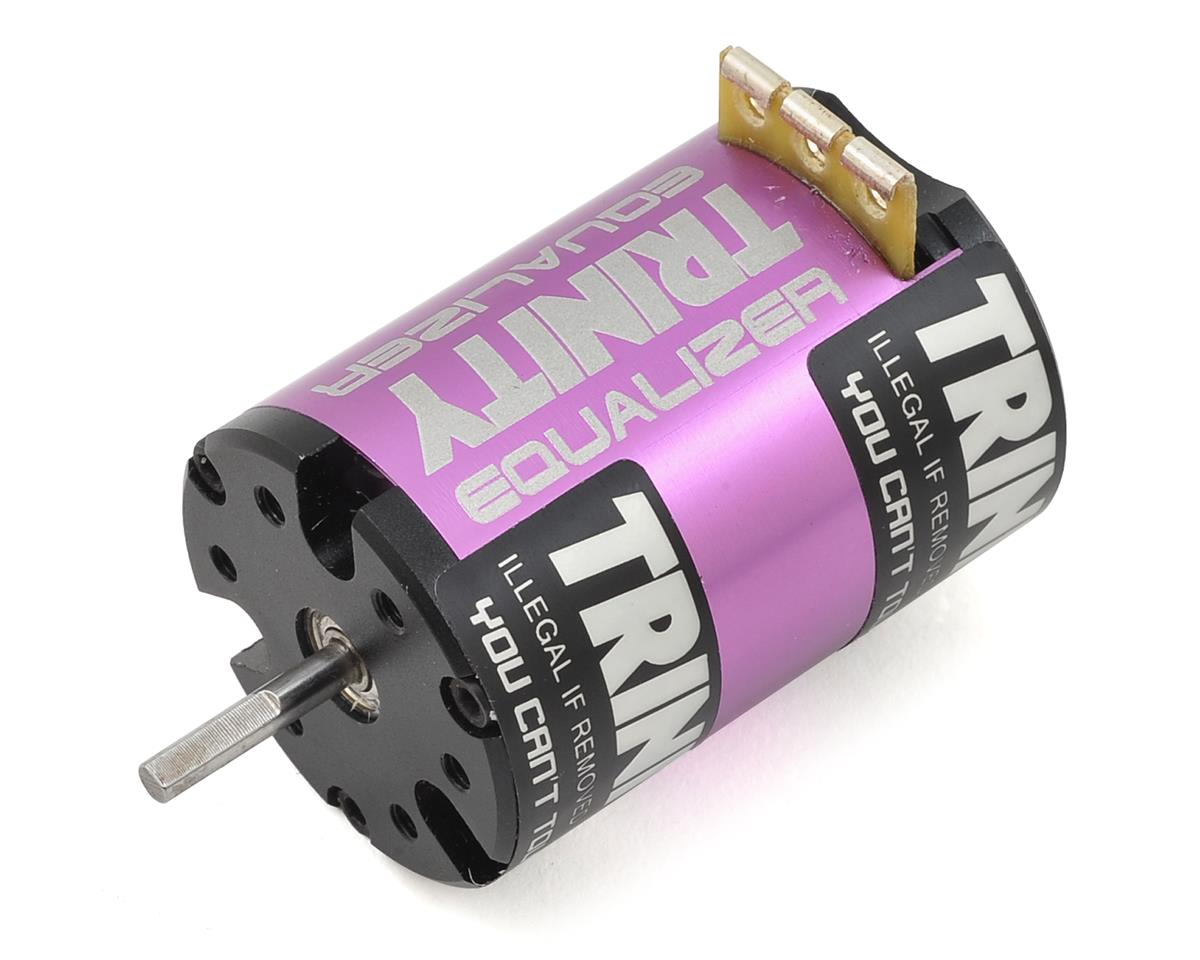 "Team Trinity ""Equalizer"" Spec Sensored Brushless Motor (Fixed Timing) (17.5T)"
