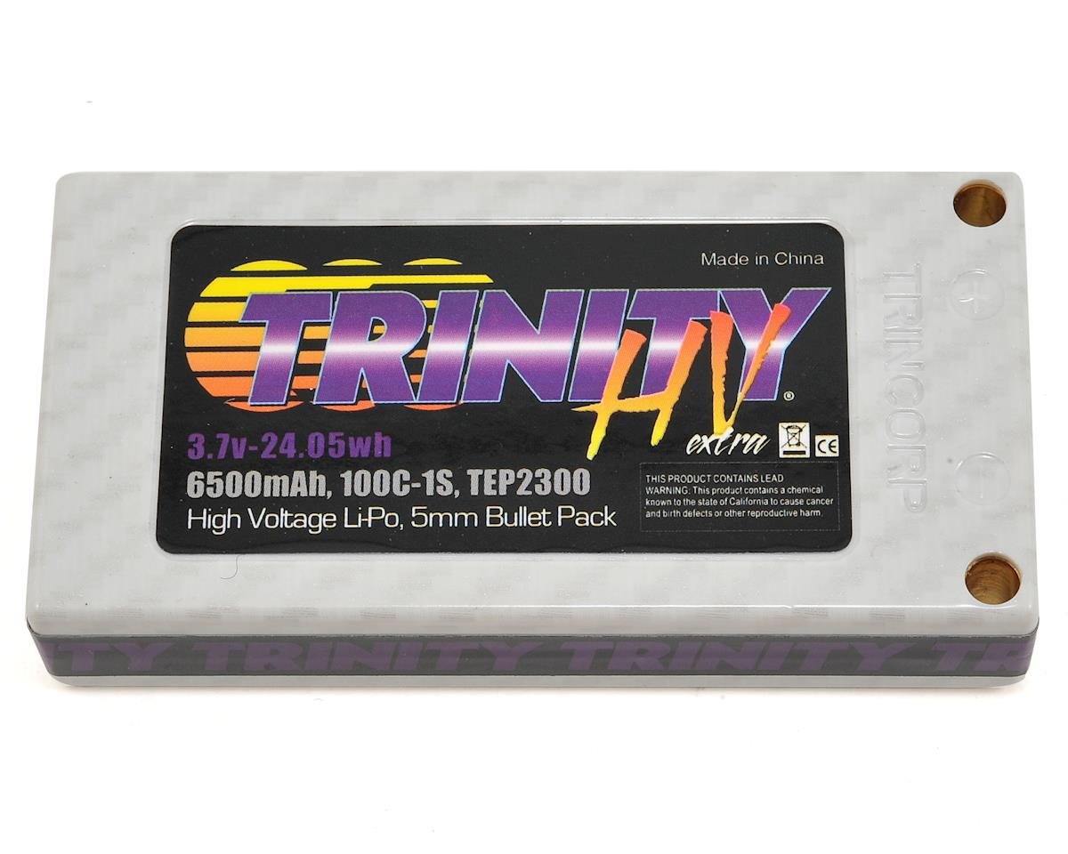 Team Trinity Hi-Voltage 1S 100C Hardcase LiPo Battery (3.7V/6500mAh)
