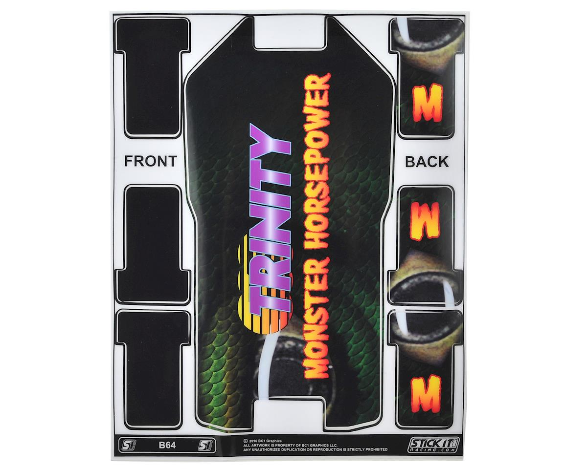Team Trinity Monster Horsepower Precut B64/B64D Chassis Protective Sheet