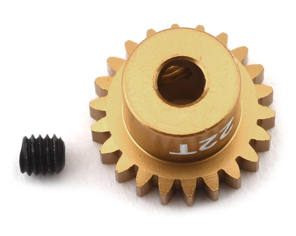 Trinity 48P Ultra Light Weight Aluminum Pinion Gear (3.17mm Bore) (22T)