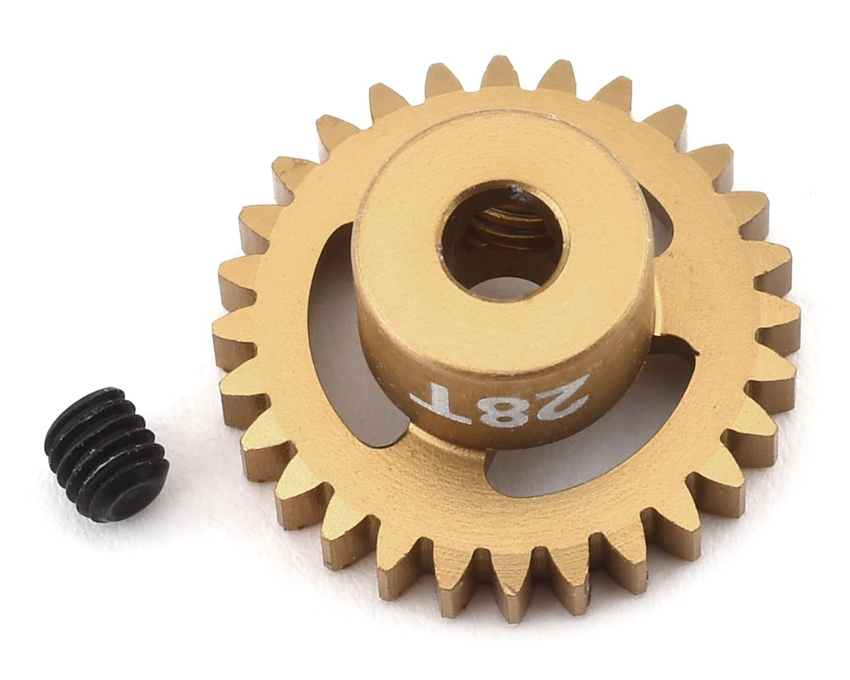 Trinity 48P Ultra Light Weight Aluminum Pinion Gear (3.17mm Bore) (28T)
