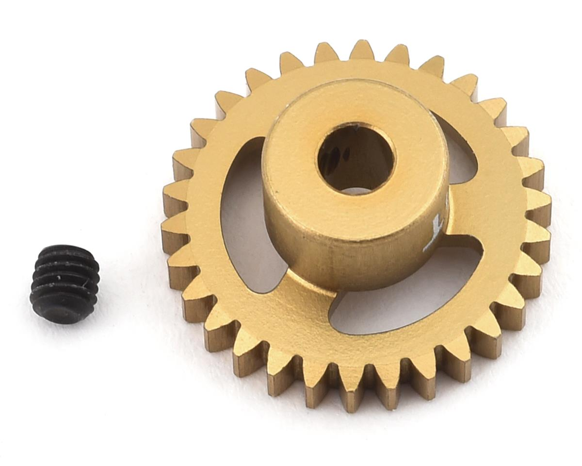 Trinity 48P Ultra Light Weight Aluminum Pinion Gear (3.17mm Bore) (30T)