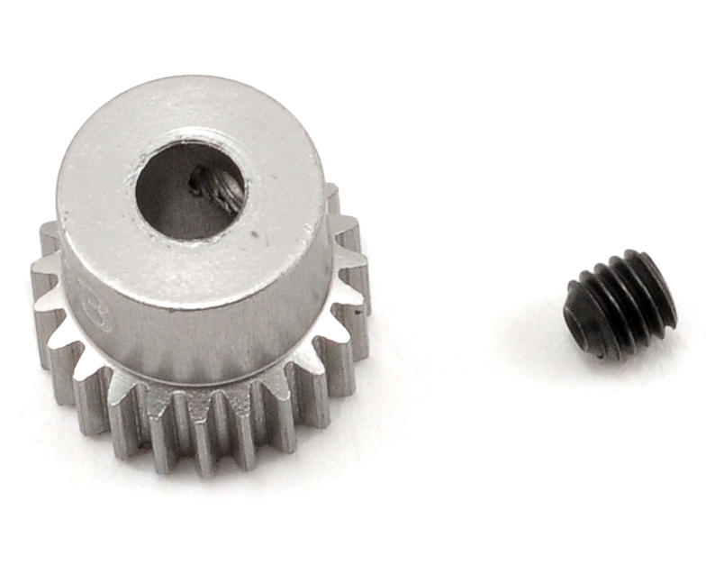 Team Trinity 64P Hard Anodized Aluminum Pinion Gear (23T)