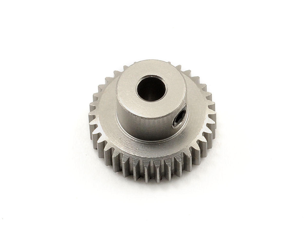Team Trinity 64P Hard Anodized Aluminum Pinion Gear (34T)