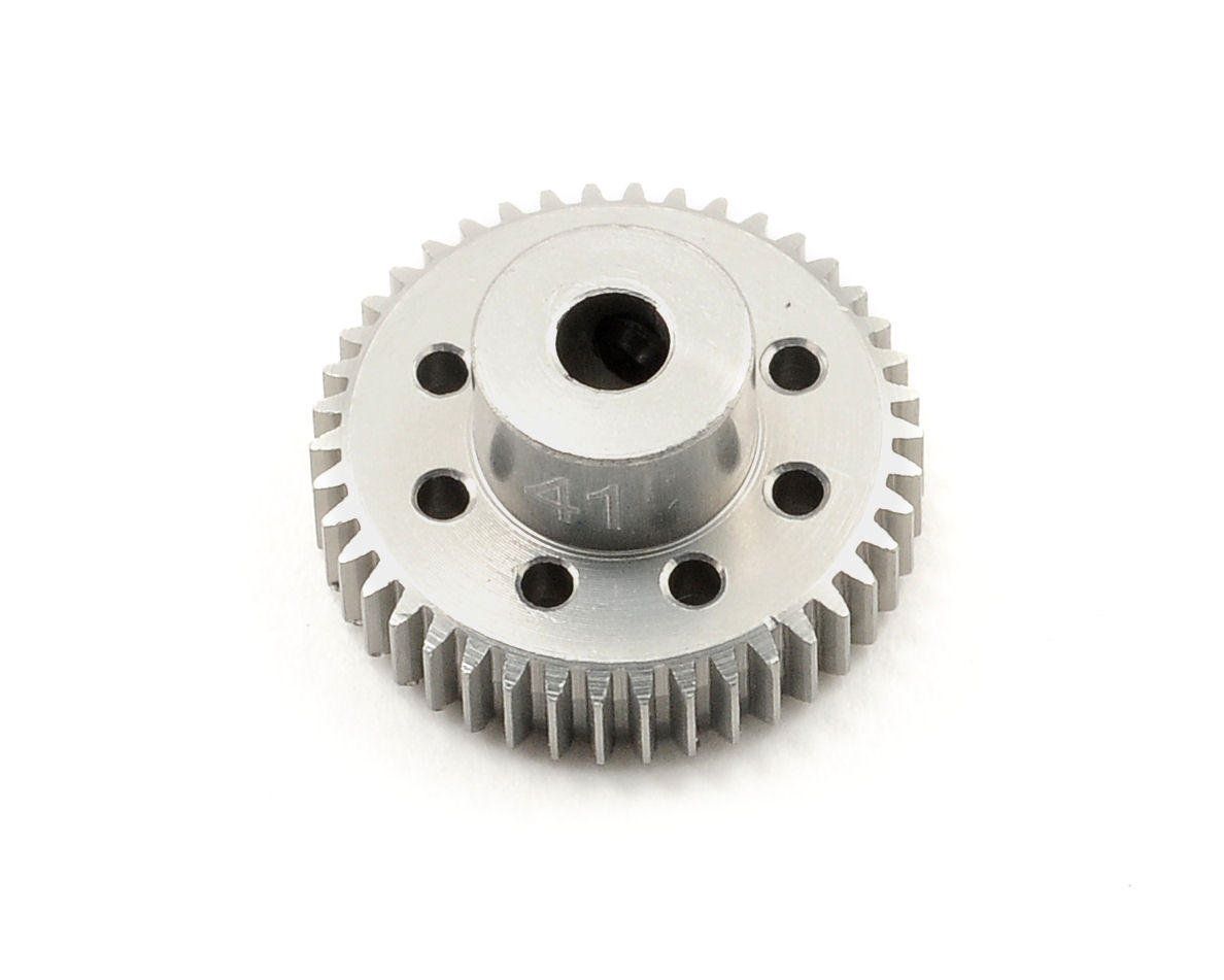 Team Trinity 64P Hard Anodized Aluminum Pinion Gear (41T)