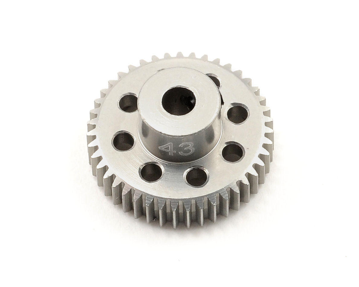 Team Trinity 64P Hard Anodized Aluminum Pinion Gear (43T)