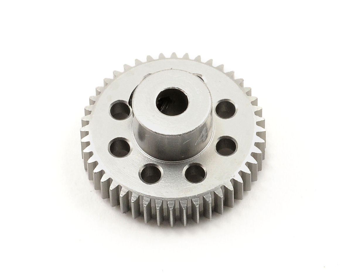 Team Trinity 64P Hard Anodized Aluminum Pinion Gear (44T)