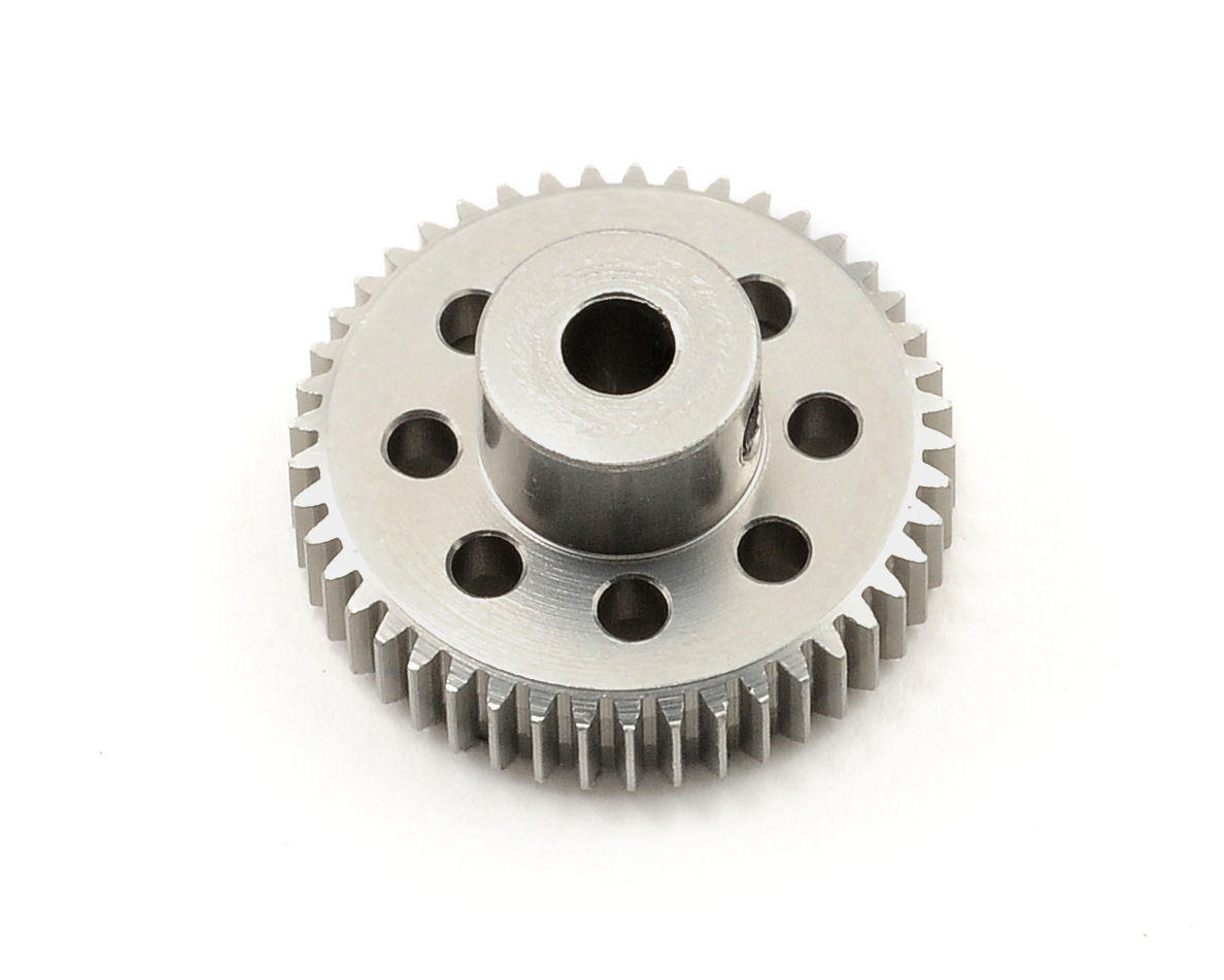 Team Trinity 64P Hard Anodized Aluminum Pinion Gear (45T)