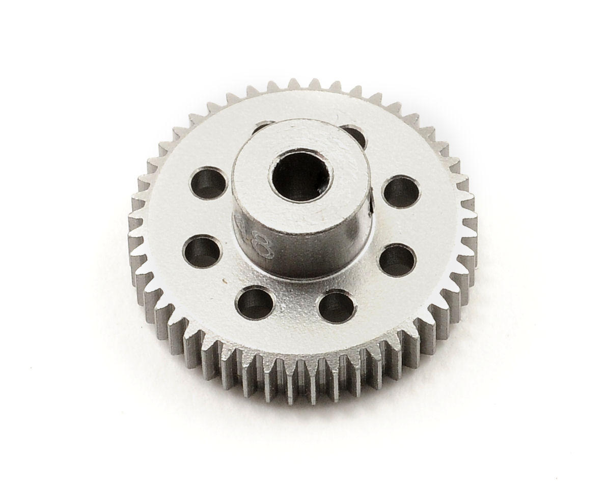 Team Trinity 64P Hard Anodized Aluminum Pinion Gear (48T)