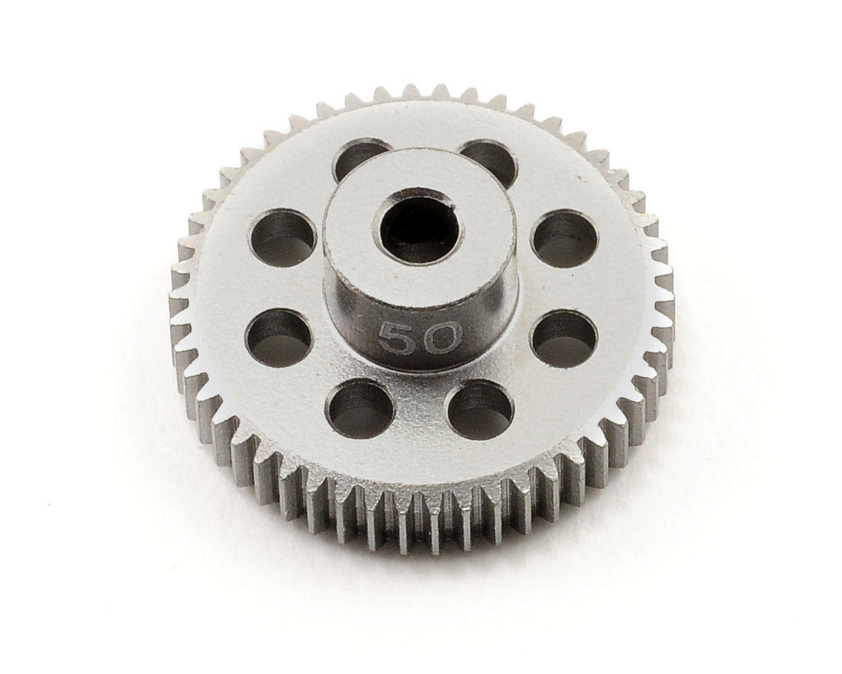 Team Trinity 64P Hard Anodized Aluminum Pinion Gear (50T)