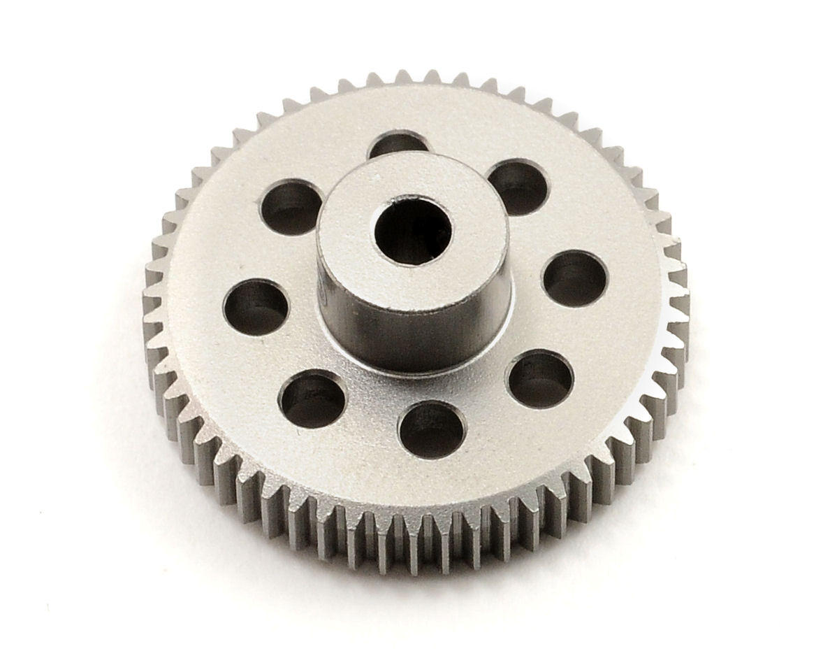 Team Trinity 64P Hard Anodized Aluminum Pinion Gear (55T)