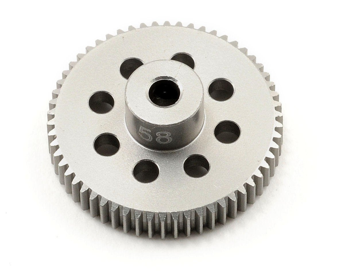 Team Trinity 64P Hard Anodized Aluminum Pinion Gear (58T)