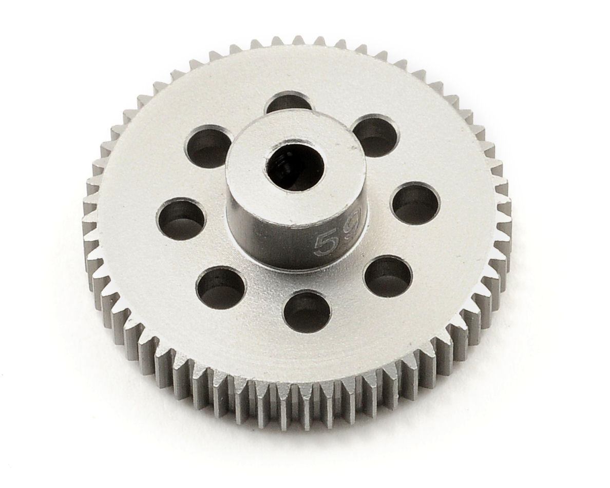 Team Trinity 64P Hard Anodized Aluminum Pinion Gear (59T)