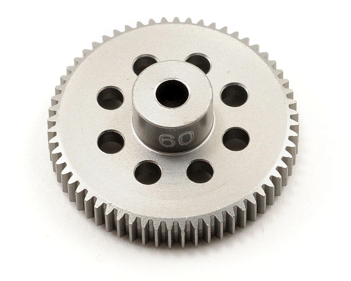 Team Trinity 64P Hard Anodized Aluminum Pinion Gear (60T)