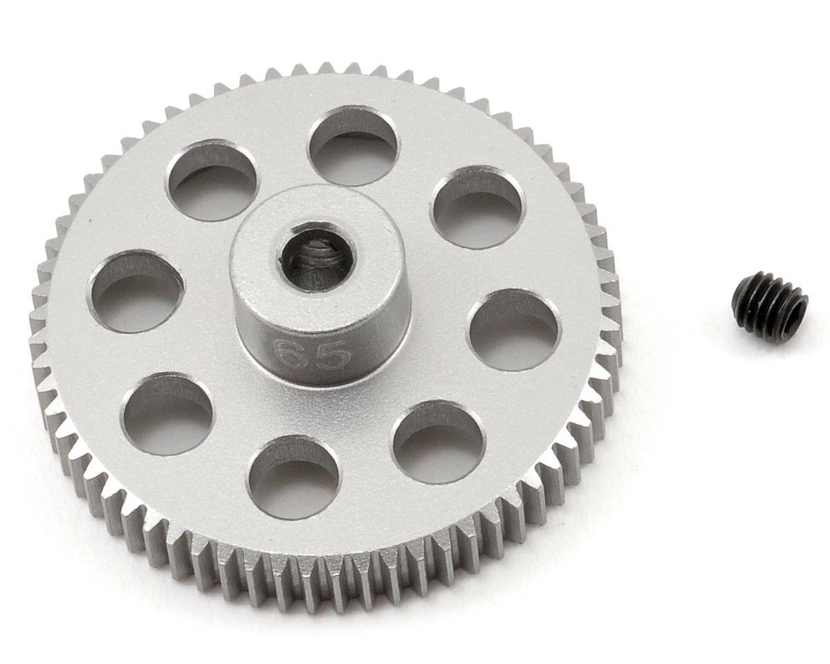 Team Trinity 64P Hard Anodized Aluminum Pinion Gear (65)