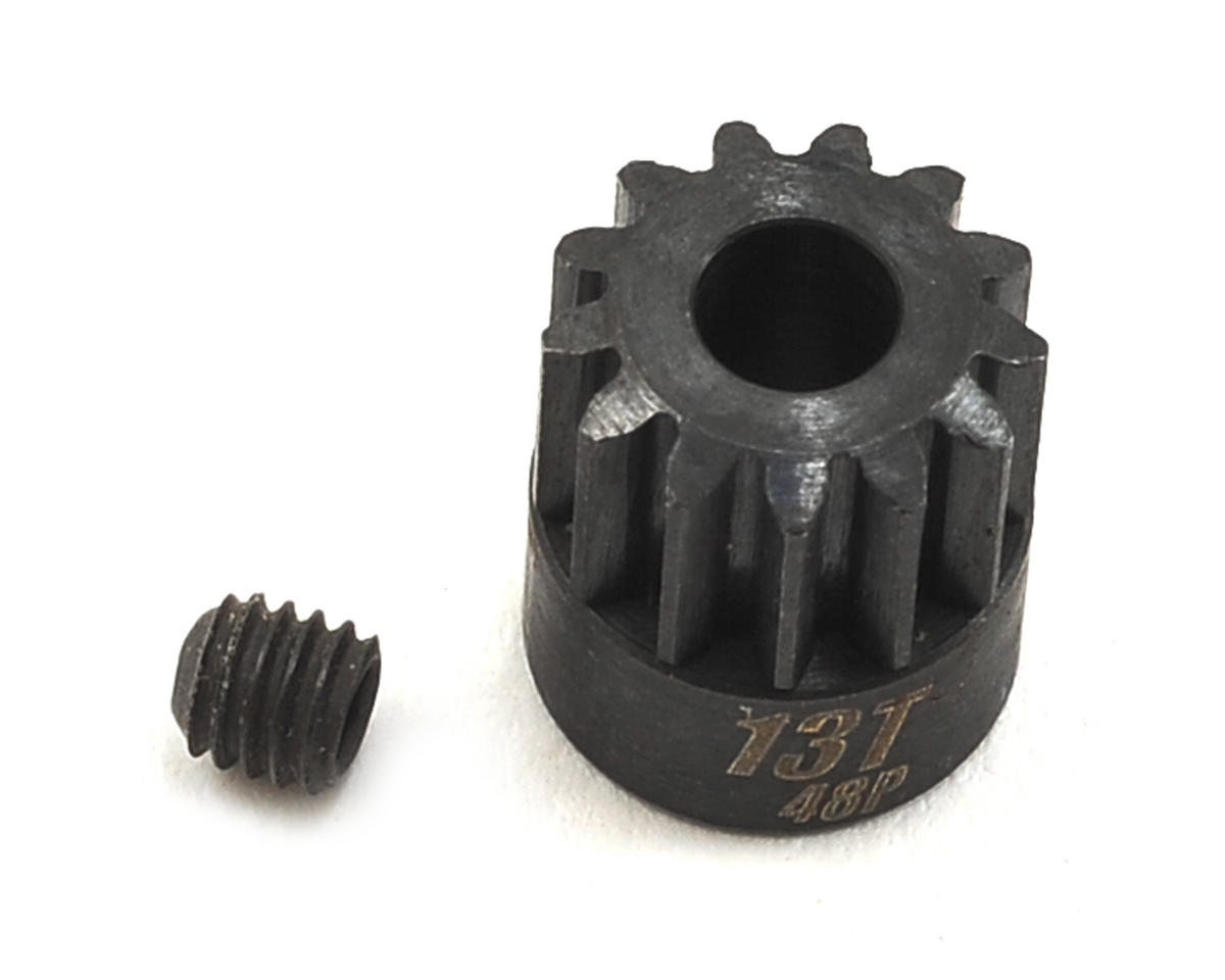 Team Trinity 48P Lightened Steel Pinion Gear (13)