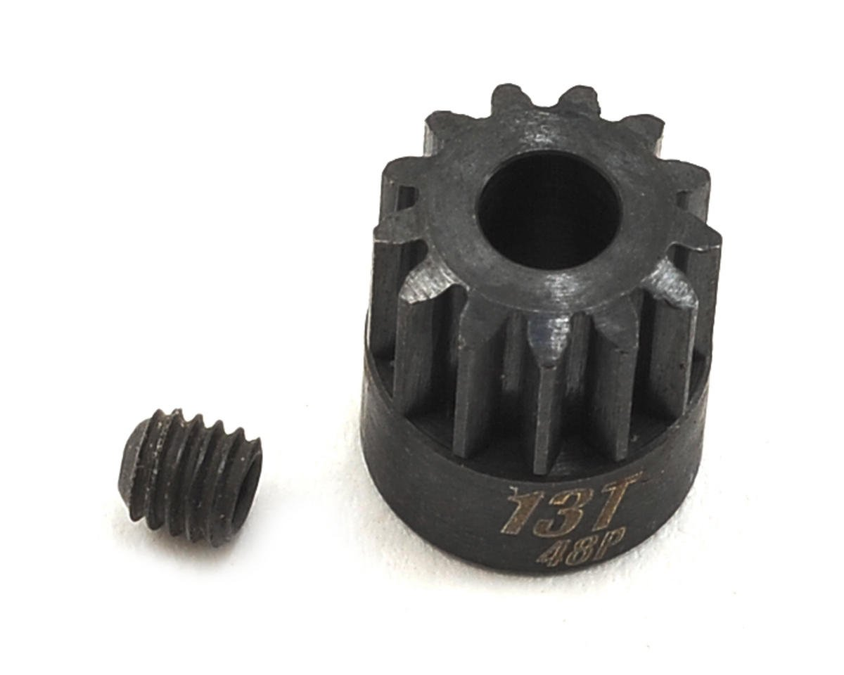 Team Trinity 48P Lightened Steel Pinion Gear (3.17mm Bore) (13T)